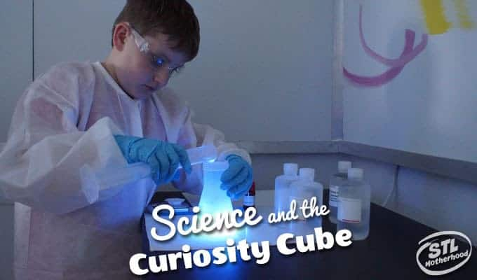 Spark Curiosity with the Curiosity Cube