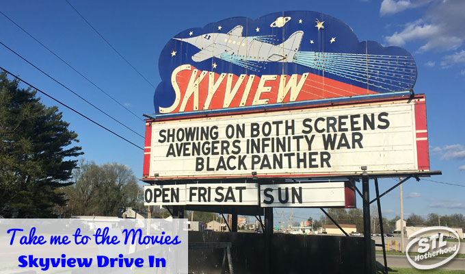 skyview drive in movie screen