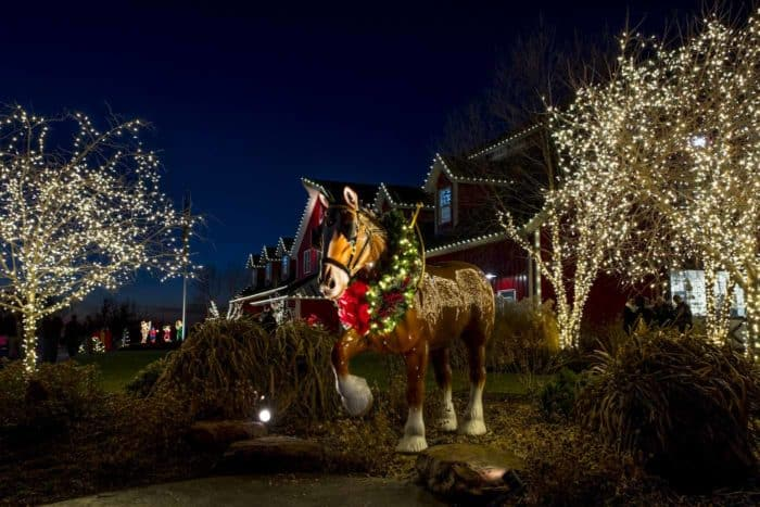 warm springs ranch christmas lights