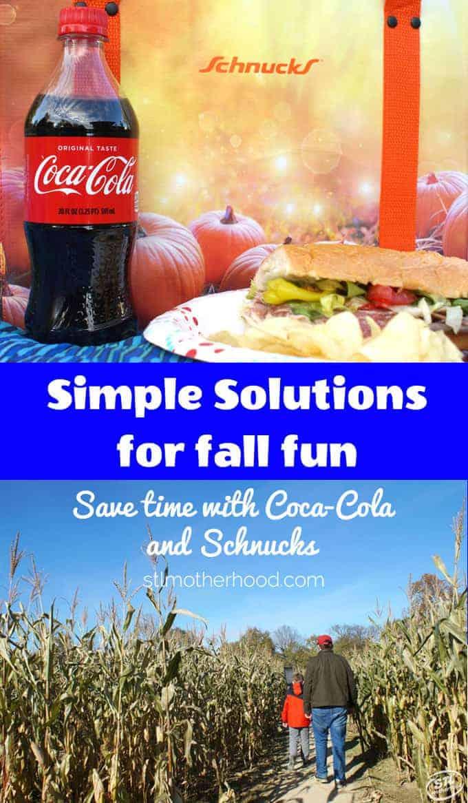 fall fun with Coca Cola and Schnucks