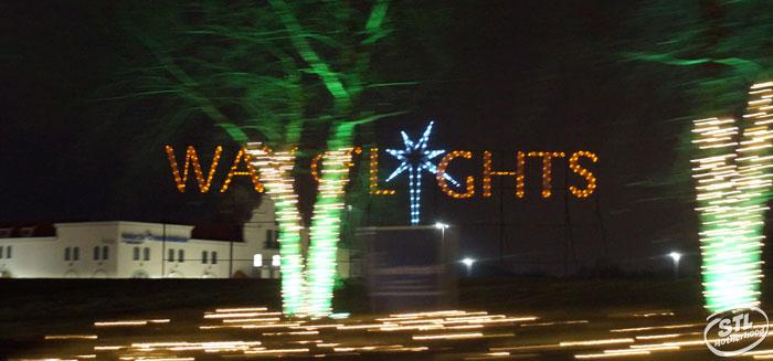 Way of Lights Christmas Light Display