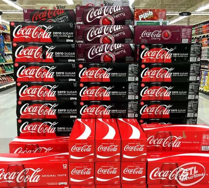 Coca-Cola and Coke Zero