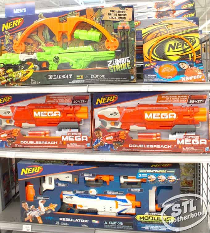 academy sports family fun with Nerf