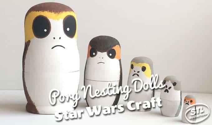 Porg nesting dolls Star Wars