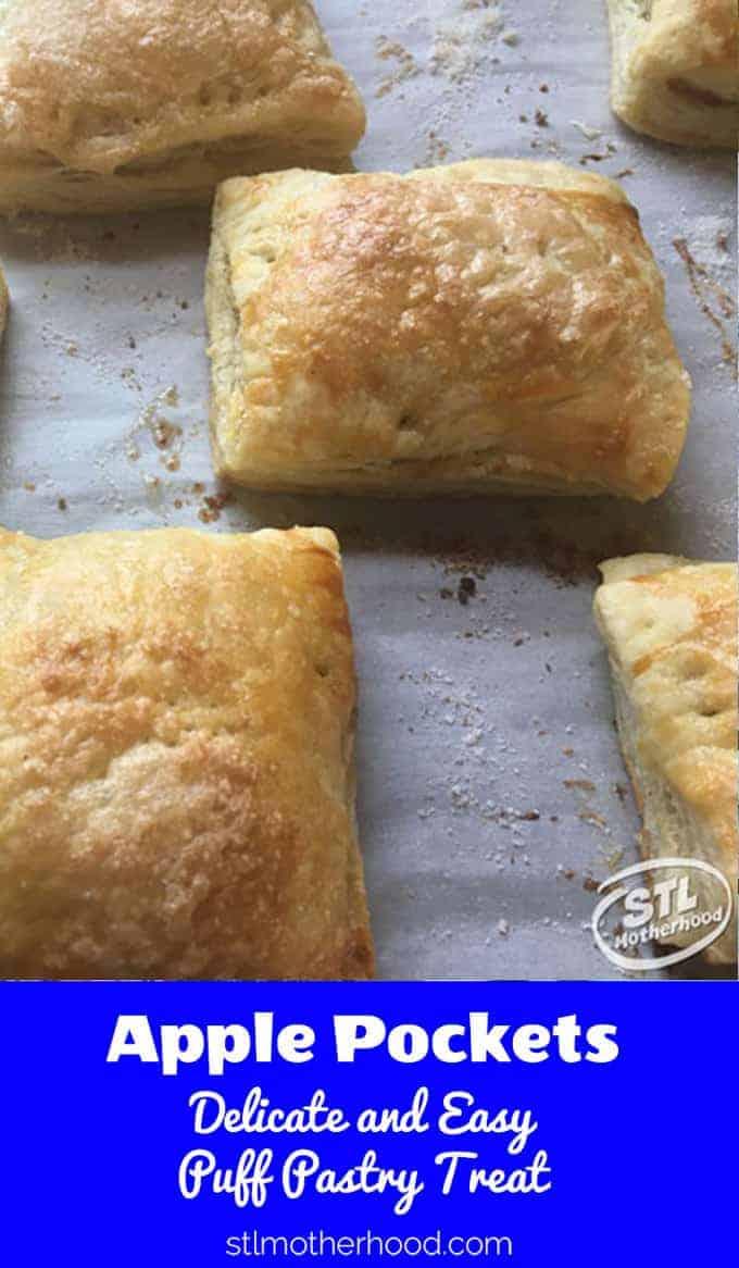 apple pocket puff pastry pie
