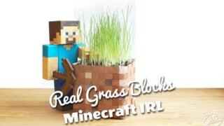 Real Minecraft Grassblock 2.0