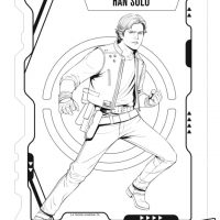 Han Solo Movie Coloring Pages