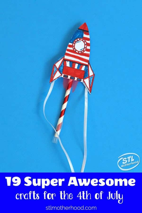 19 easy and patriotic crafts for kids to make this summer to celebrate the 4th of July