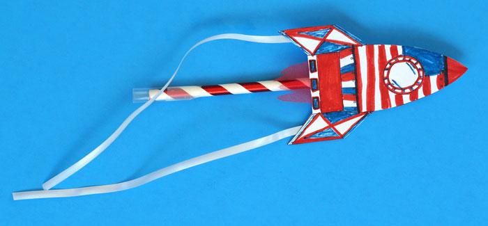 american straw rocket