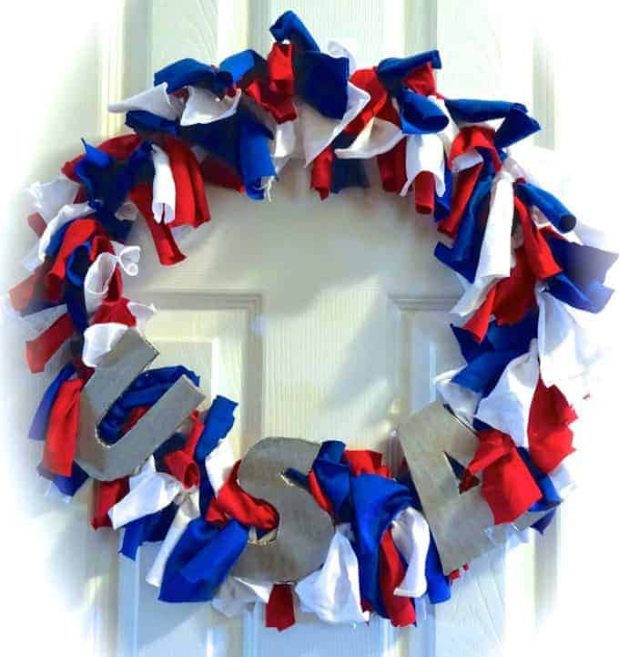 t shirt wreath