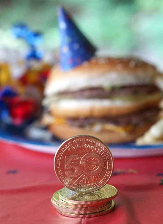 Big Mac 50th Birthday