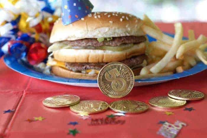 McDonalds Big Mac 50th birthday