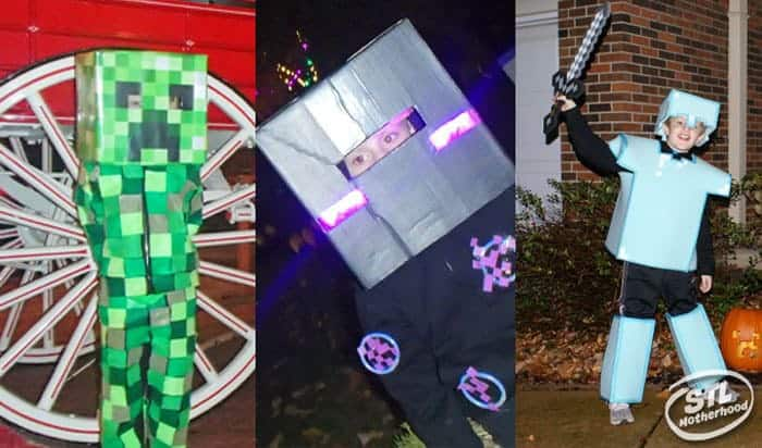 Minecraft costumes to make at home