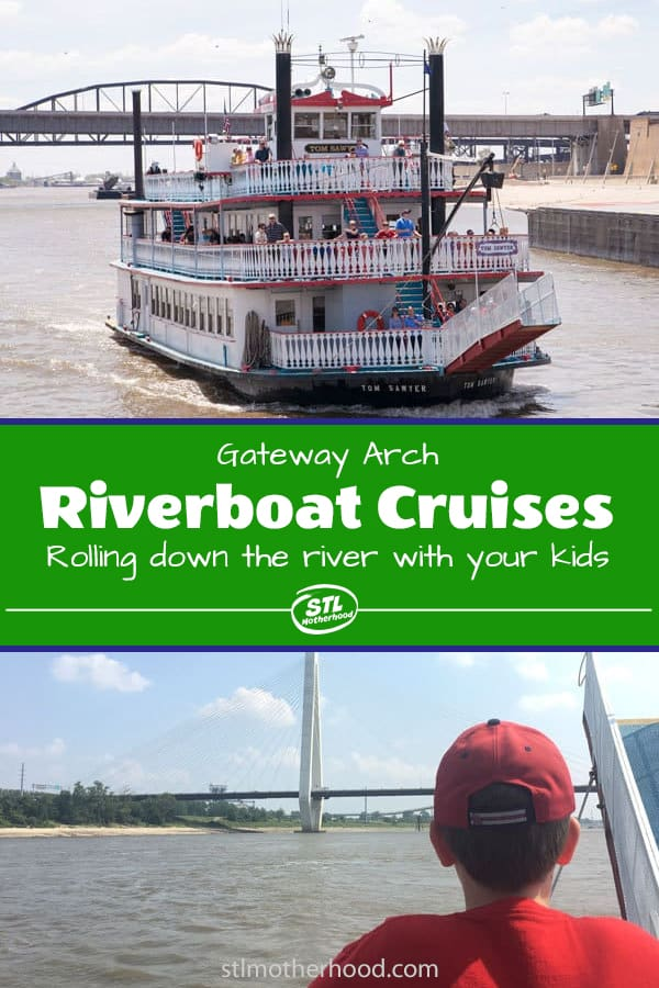 Roll down the Mississippi river in steamboat style with Gateway Arch Riverboat Cruises.