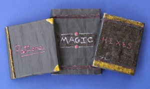 Make an Easy Magical Journal for your Spells and Fantastic Beasts