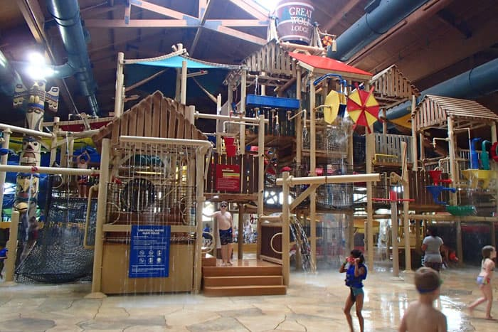 Great Wolf Lodge Water Park fort