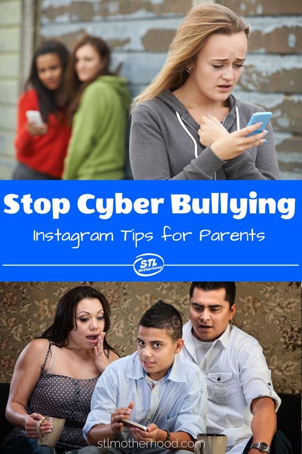 stop cyber bullies on instagram