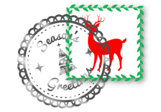 santa letter stamp no date