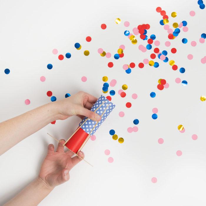 kiwi confetti launcher