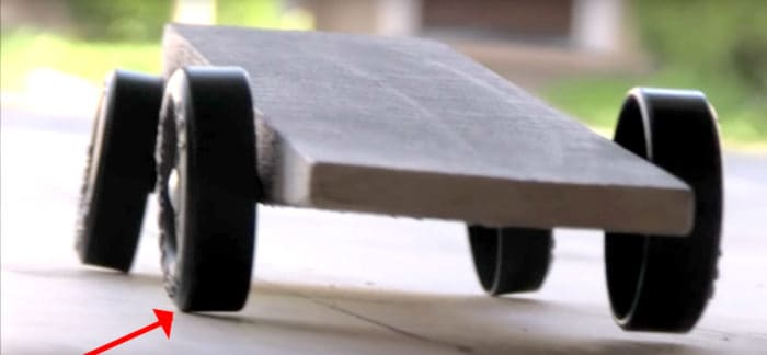 pinewood derby science