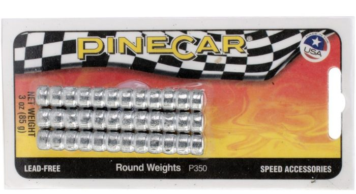 pinewood derby weights