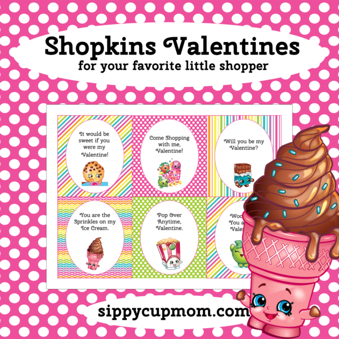 Shopkins Valentine