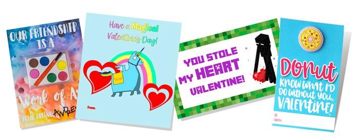 classroom valentines free printables