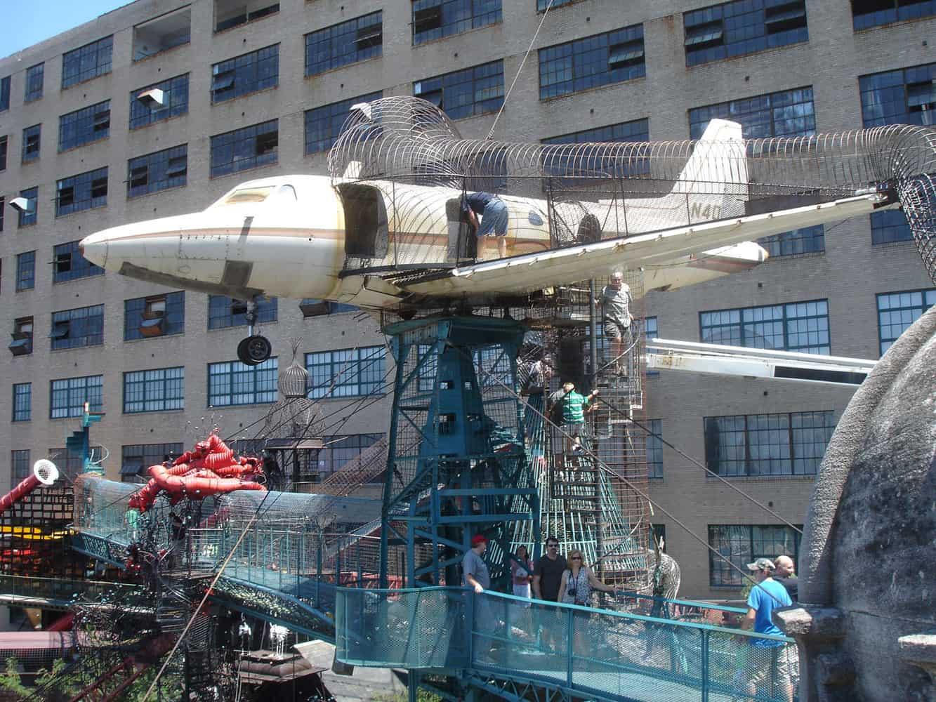 city museum plane