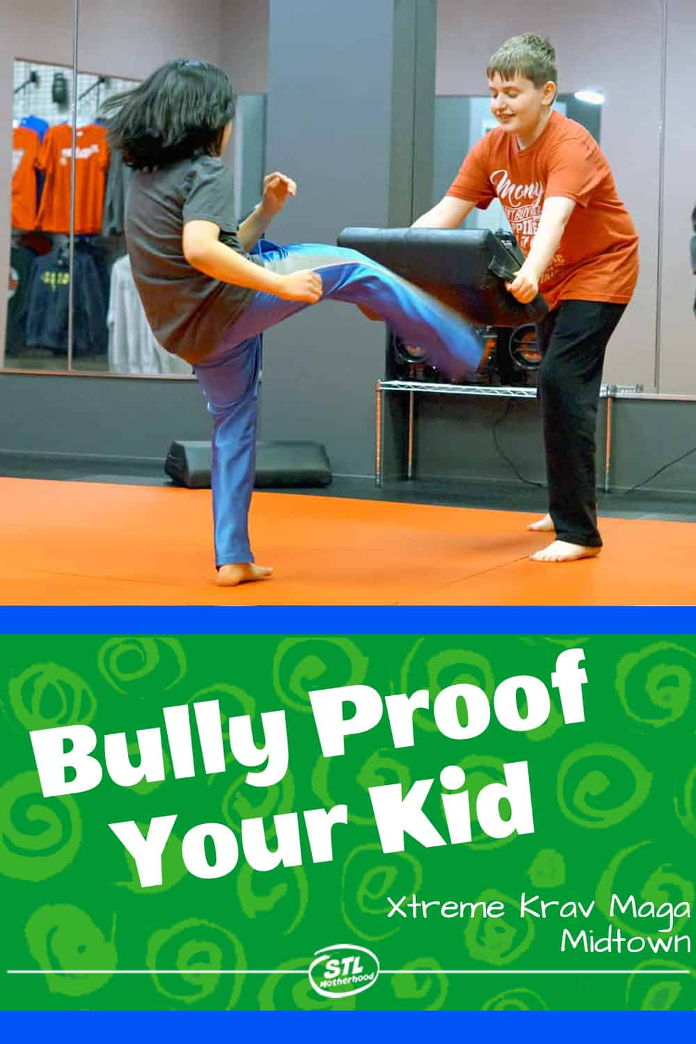 Bully proof your kid with confidence and practical skills.
