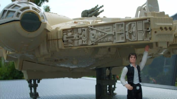 Millennium Falcon toy by Kenner