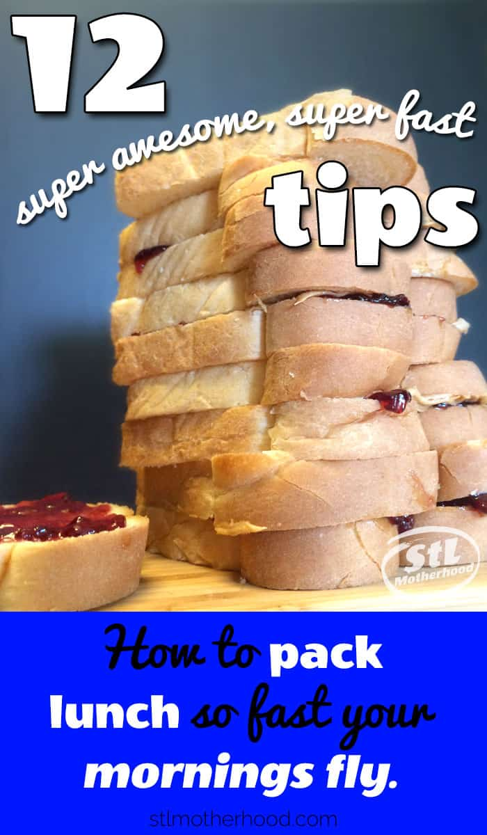 12 back to school lunch box ideas and packing tips to save you time in the morning. #backtoschool #lunchbox #lunchboxideas