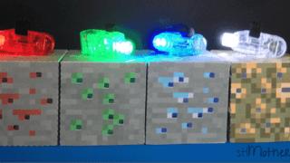 DIY Minecraft Light Up Blocks (with free printable)