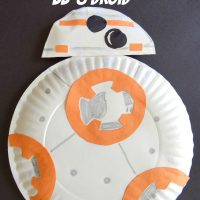 Paper Plate BB-8 Droid