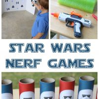 Star Wars Themed Nerf Games