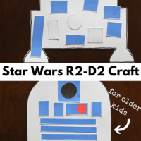 R2-D2 Craft for Kids