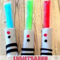 Lightsaber Popsicles - Easy Star Wars-Inspired Frozen Treat