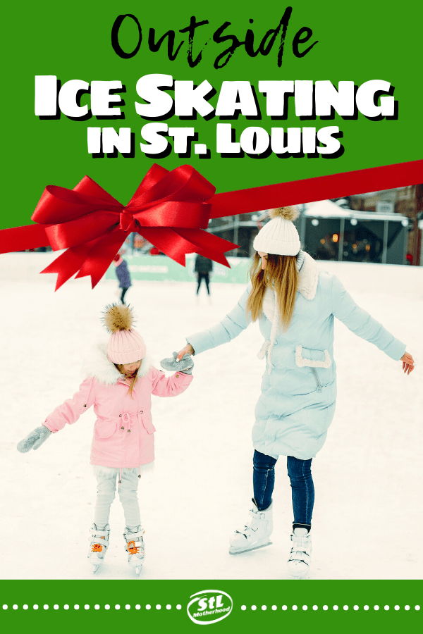 Places to ice skate in St. Louis outside this winter! #iceskate