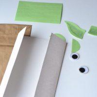 Yoda Paper Bag Puppet