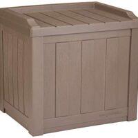 22-Gallon Resin Deck Storage Box