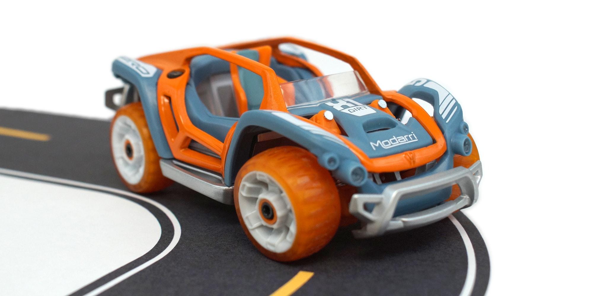Modarri toy car in orange