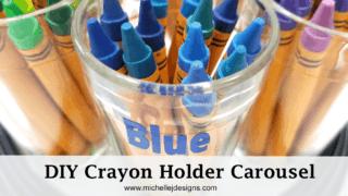 DIY Crayon Holder Carousel