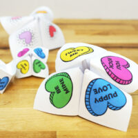 How to Make an Awesome Valentine Origami Fortune Teller