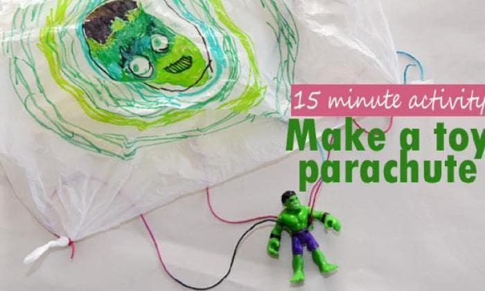 Parachuting toys!