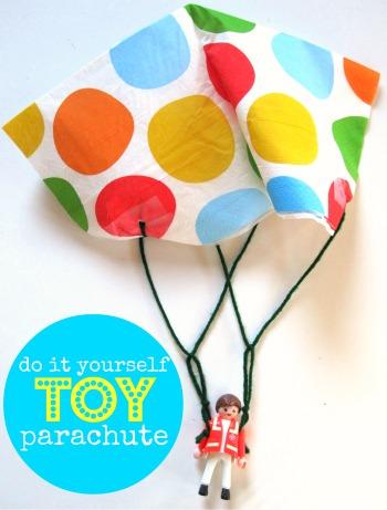 Toy Parachute Craft