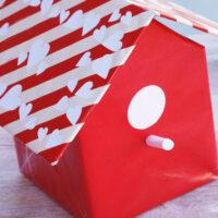 Valentine Box Ideas: Birdhouse