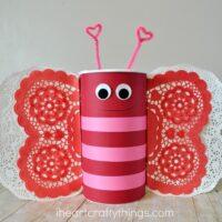 Butterfly Valentine's Day Mailbox