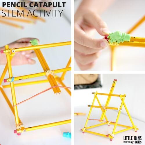 Number 2 Pencil Catapult