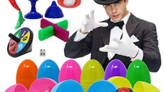 Prefilled Easter Eggs with Classic Magic Tricks for Kids