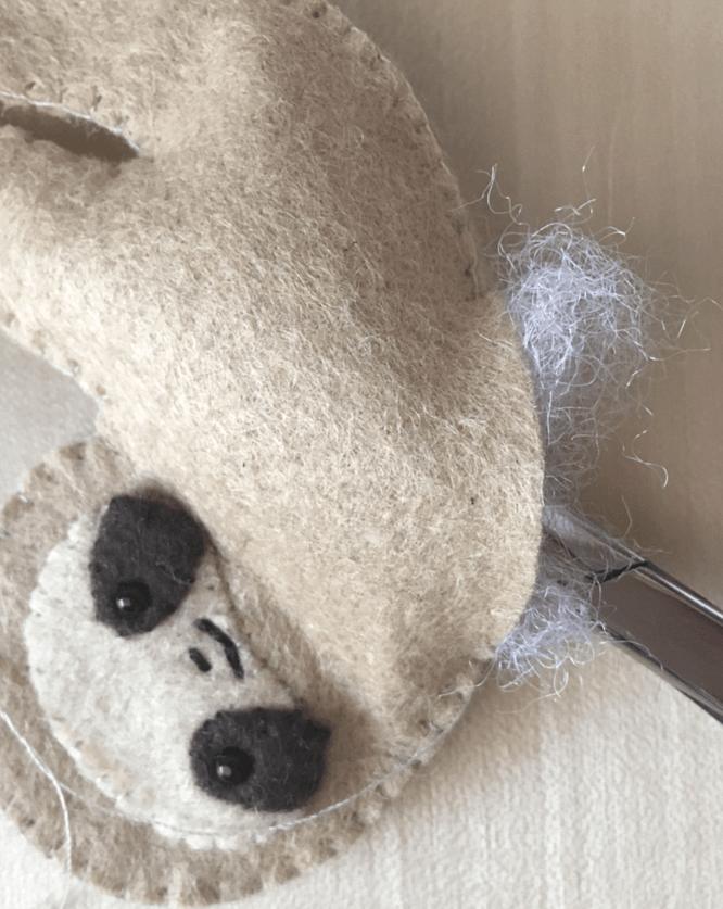 Felt Pocket Sloth