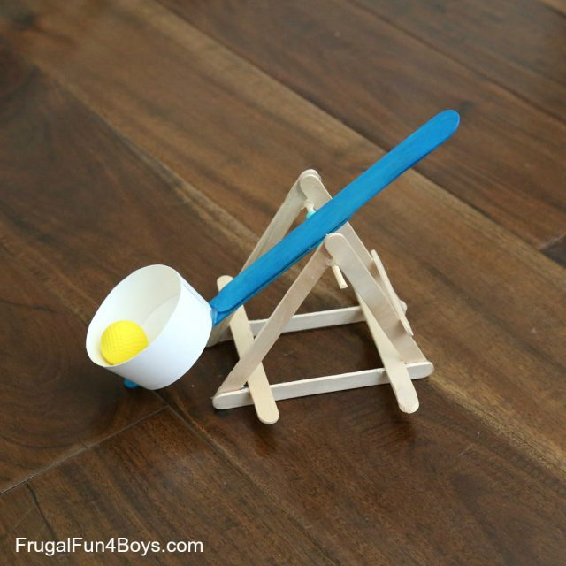 Build a Powerful Popsicle Stick Catapult